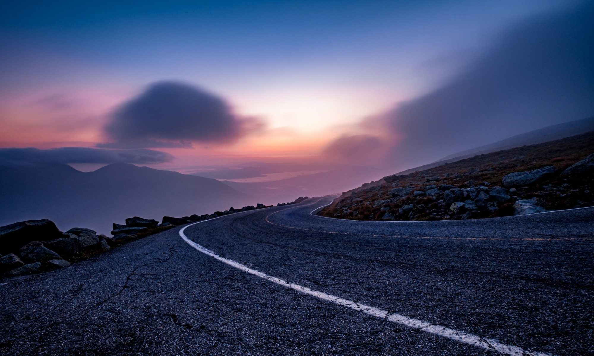 Sunrise Ascent on Mt. Washington